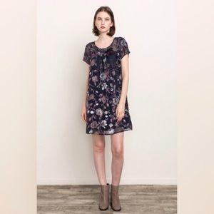 🆕Mystree Velvet Shirt Dress NWT